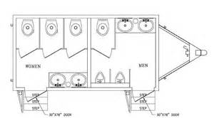 toilet floor plan trailer floor plans shower and toilets n charleston