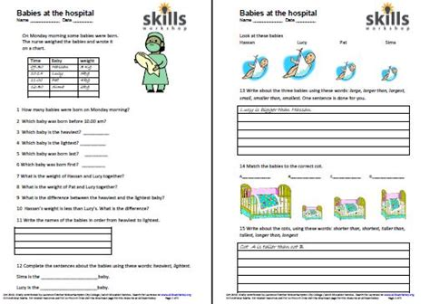 Functional Math Worksheets by Functional Maths Skills Workshop