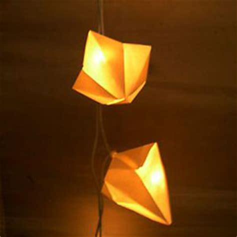 origami lichterkette buchbinderei grimm origami blattwerk 187 origami lichterkette
