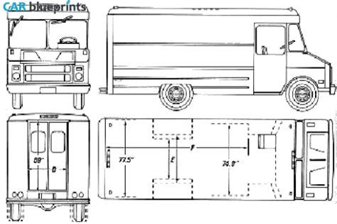 Kitchen Design Cad Software 1990 chevrolet step van blueprint mobile catering food