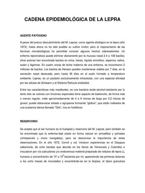 cadena epidemiologica lepra cadena epidemiol 211 gica de la lepra