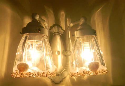 seashell light fixture nancy s daily dish 1980 s brass light fixtures get a