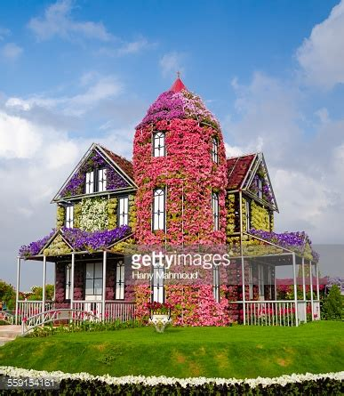 flowers house music house of flowers at miracle garden dubai uae stock photo getty images