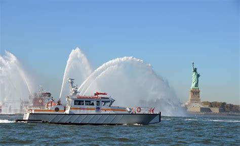 kingston fire boat metalcraft marine high speed aluminum fireboat and
