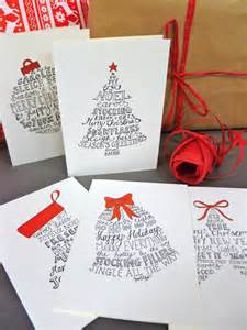 10 lettered card pack with five festive designs
