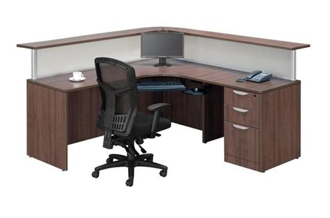 height of reception desk what is the recommended height for a reception desk