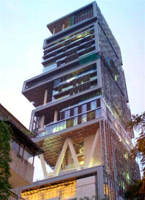 mukesh ambani bungalow ambani s antilia most expensive billionaire home rediff