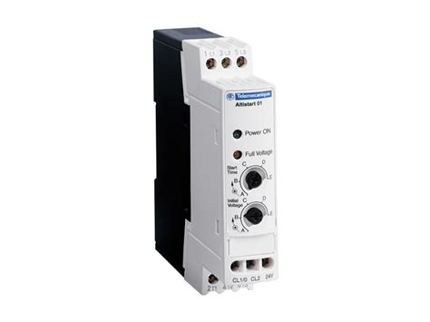Schneider Ats01n212qn clipsal ats01n212qn soft start stop 12a 380 415v
