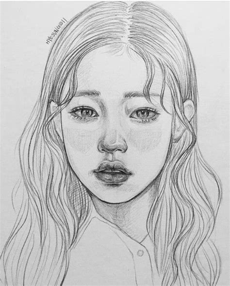 Kpop Sketches by Pin By M E On Pencil Drawings Sketches And