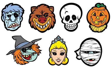 imagenes halloween mascaras doce m 225 scaras de halloween para imprimir