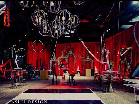 Parisian Interiors A Dark Fantasy Circus Photo Shoot Asiel Design