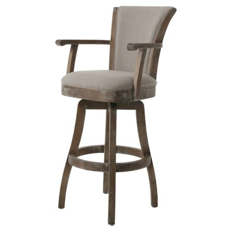 bar stools with back and arms that swivel furniture grey wooden swivel bar stools with arms and