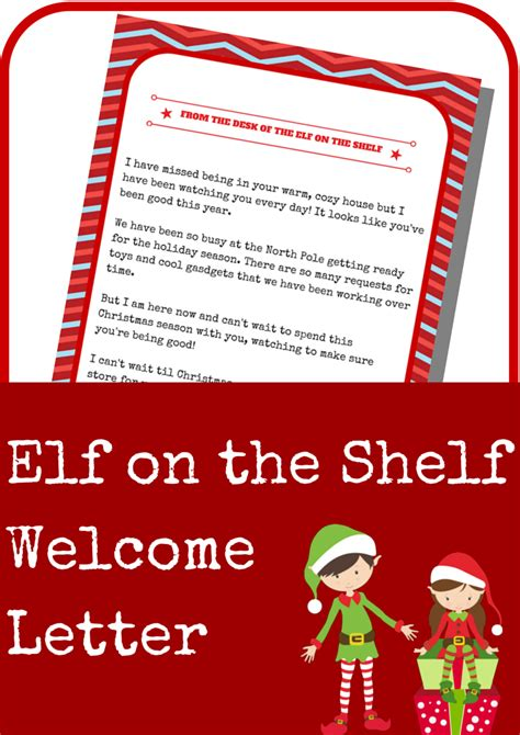 When To Start On The Shelf by On The Shelf Welcome Letter A Grande