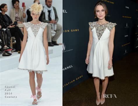 Gamis Fashion Chanel keira knightley in chanel couture the imitation