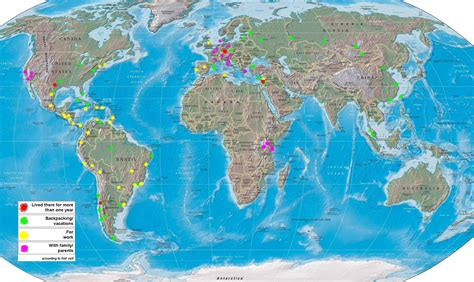 map for tourists world tourist map mappery