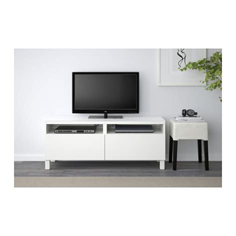 tv besta best 197 tv bench with drawers lappviken white 120x40x48 cm