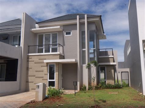 desain rumah dua lantai desain arsitektur rumah minimalis terbaru 2015 design