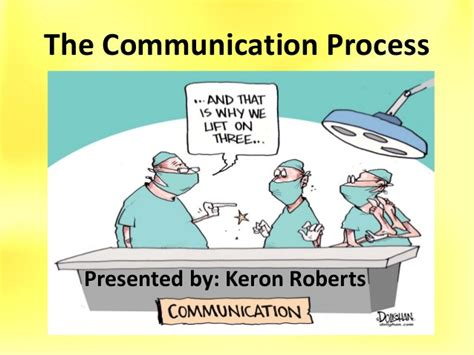 The Of Communicating communication