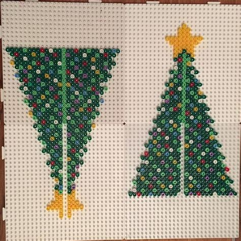 3d christmas tree hama beads by jritaalm hama id 233 er