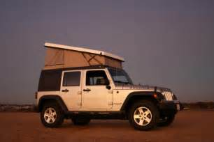 jeep wrangler pop top cer by ursa minor vehicles