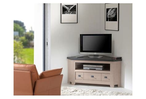Interieur En Bois Maison 4666 by Meuble De Tele D Angle Meuble Tv Blanc Pas Cher Objets
