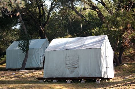 Tent Cabin by Canvas Cabin Tents Mother Lode River Center