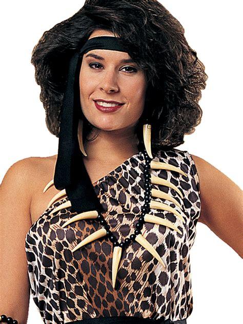 caveman bone necklace costume accessory fancy dress