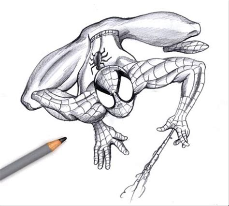 imagenes de spiderman para dibujar a lapiz aprende a dibujar a spiderman paso a paso taringa