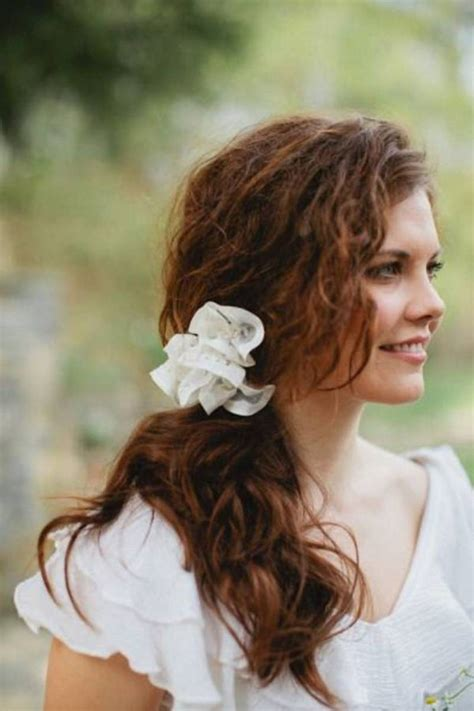 Hairstyles For Hair On Wedding Day by Curly Hairstyle Ideas For Your Wedding Day Hair World