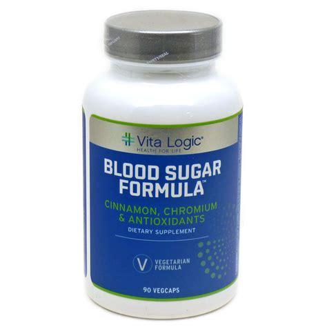blood sugar formula by vitalogic 90 capsules