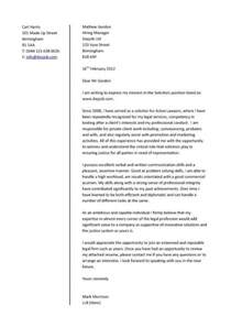 tips for writing a cover letter for a letter of