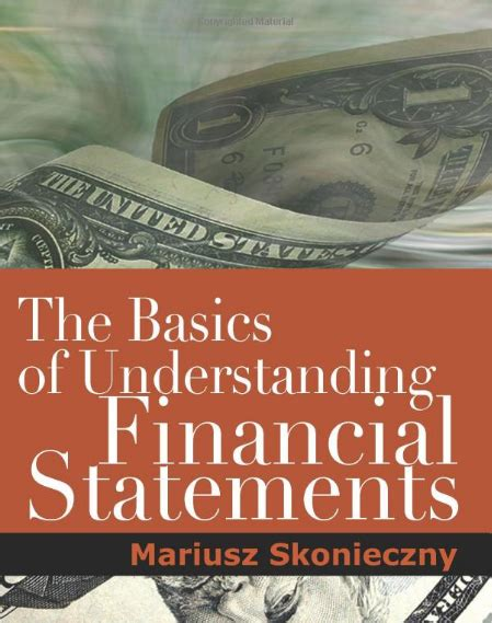 Book Of Understanding the basics of understanding financial statements book