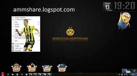 theme google chrome borussia dortmund theme borussia dortmund for windows 7 amm share