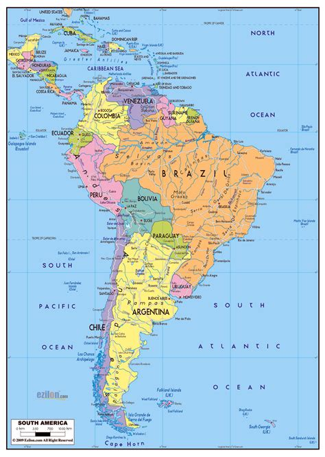 map of roads in usa maps of south america and south american countries