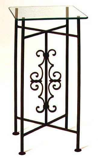 wrought iron pedestal table wrought iron pedestals and tables with glass