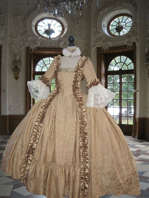 Stylish Costume Of The Day Antoinette by Georgian Rococo Colonial 18th Century Antoinette