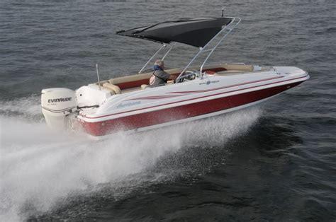 hurricane deck boat vs pontoon hurricane sundeck sport 201 ob pontoon deck boat magazine