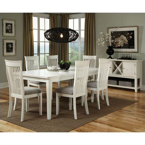 standard furniture regency 9 piece dining room set standard furniture regency 7 piece dining set in white