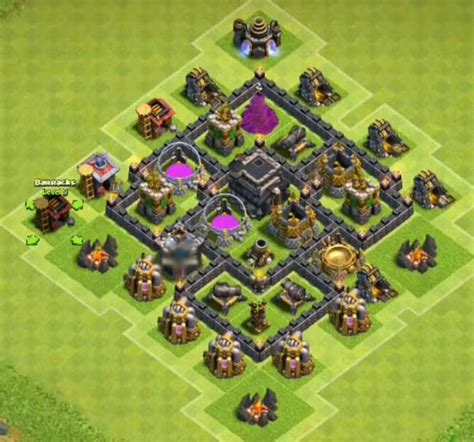 layout coc th5 anti giant 8 best town hall th5 farming bases anti giants 2018