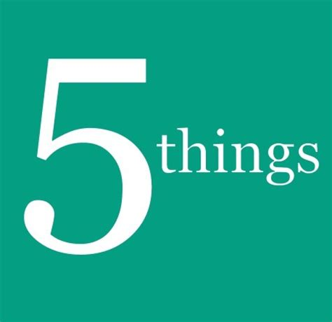 5 Things That Are For You by 5 Things You Need To Disciple Leadership