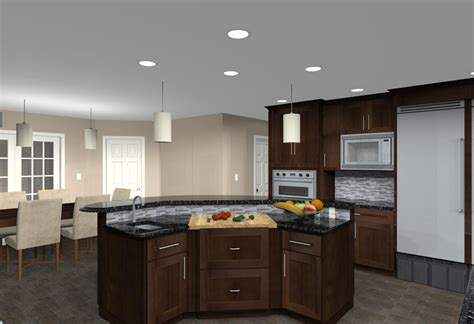 cad views of kitchen design ideas for remodeling design