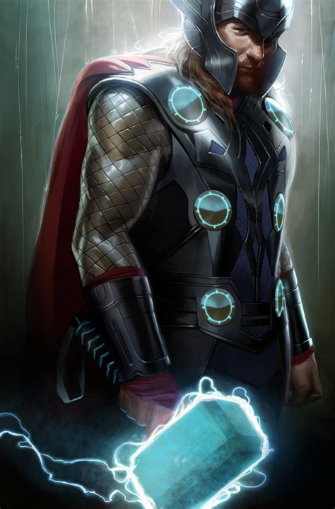 awesome concept art by marko djurdjevic best thor