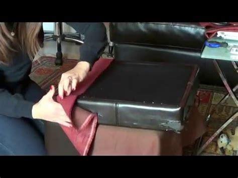 come tappezzare un divano come tappezzare un vecchio pouf your