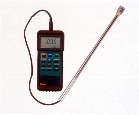 Thermo Anemometer new thermo anemometer with mini telescoping vane