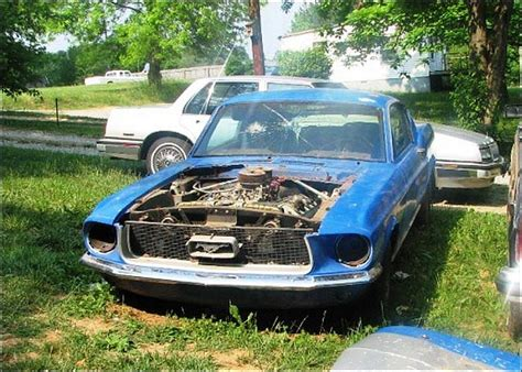 mustang with hemi engine the hemi stallion a 1967 mustang barn find tv
