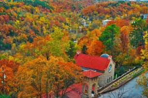 fall colors arkansas quot fall quot in with eureka springs eureka springs