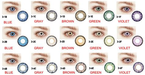 best colored contacts brand best selling premium new bio 3 2 color contact lenses