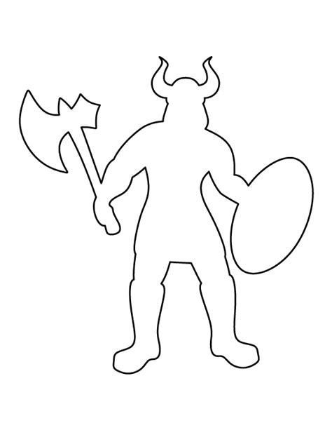 printable viking template