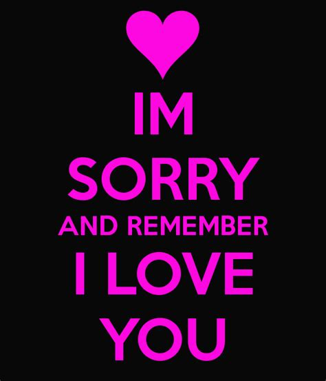 And Im by Im Sorry Quotes Quotesgram