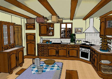 KITCHEN CARTOON PICTURES   KITCHEN DESIGN PHOTOS